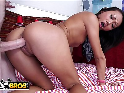 BANGBROS - Asian Teen Alina Li Talks About Dogs In China, Then Gets Fucked