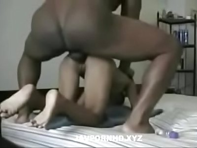 Petite Asian chick fucked by black cock