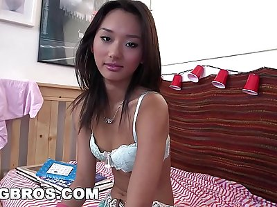 BANGBROS - Tight Teen Alina Li Gets Her Asian Pussy Smashed