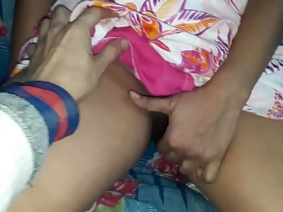 sexy girlfriend ready for sex but she is so shy