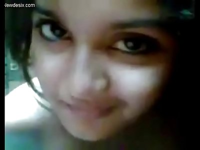 Very very cute girl selfi desi gf