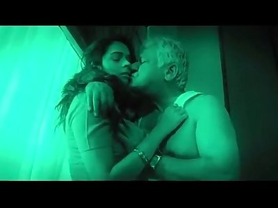 Hot indian babe seduces old man